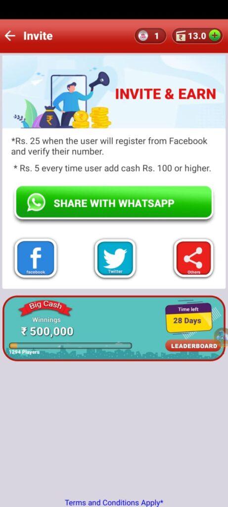 Big cah app get cash and ft diamonds
