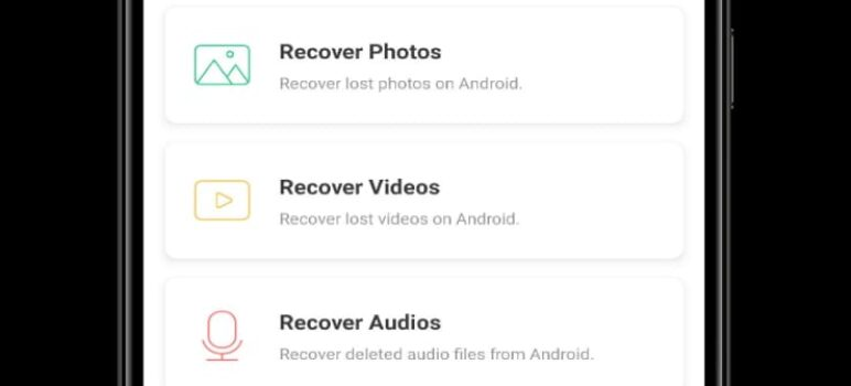 How to recover deleted images